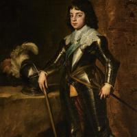 Антонис ван Дейк. Портрет Карла II в бытность принцем Уэльским