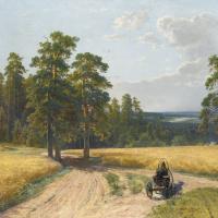 Иван Иванович Шишкин. На опушке соснового леса