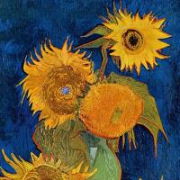 Винсент Ван Гог. Ваза с пятью подсолнухами