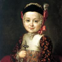 Федор Степанович Рокотов. Портрет Алексея Бобринского в детстве
