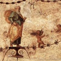 Рафаэль Санти. Маленькие ангелы. Украшение лоджии дворца понтифика в Ватикане