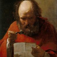 Жорж де Латур. Святой Иероним