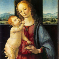 The Dreyfus Madonna (Madonna with child and pomegranate)