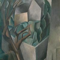 Пабло Пикассо. Домик в саду
