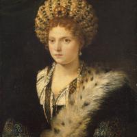 Портрет Изабеллы д`Эсте, маркграфини Мантуи