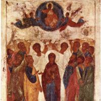Андрей Рублев. Вознесение Христово
