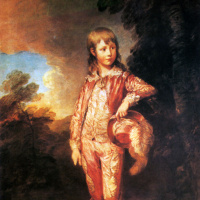 Томас Гейнсборо. Молодой Френсис Николс (Розовый мальчик)