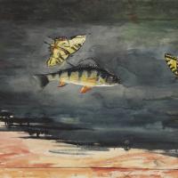 Уинслоу Хомер. Рыба и бабочки