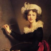 Элизабет Виже-Лебрен. Автопортрет с палитрой