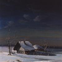 Alexey The Kondratyevich Savrasov. Winter landscape