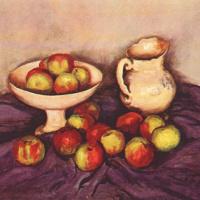 Уолт Кун. Натюрморт с яблоками