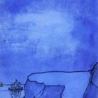 Эмиль Нольде. Голубой берег с утесом