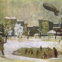 Александр Александрович Дейнека. Патриаршие пруды