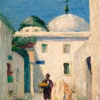 Габриель Мюнтер. Мечеть в Тунисе