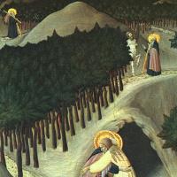 Сассетта. Встреча святого Антония и святого Павла Фивейского
