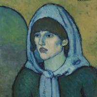 Pablo Picasso. Portrait Of Germaine