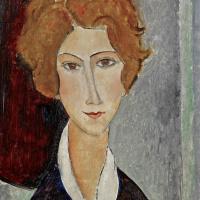 Амедео Модильяни. Портрет женщины