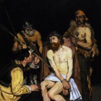 Эдуар Мане. Иисус, терзаемый солдатами (Поругание Христа)