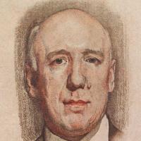 Константин Андреевич Сомов. Портрет Сологуба