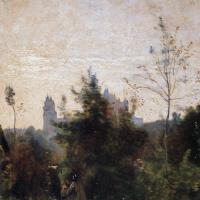 Камиль Коро. Замок Пьерфон (Пароль)