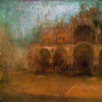 Джеймс Эббот Макнейл Уистлер. Ноктюрн: синий и золотой - площадь Святого Марка, Венеция