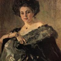 Valentin Aleksandrovich Serov. Portrait Of Evdokia Morozova