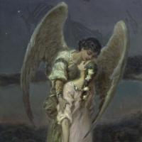 Вильгельм Александрович Котарбинский. Девушка и ангел (Поцелуй ангела)