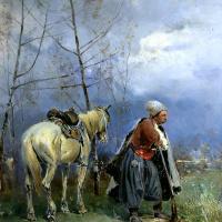 Сергей Иванович Васильковский. Запорожец на посту