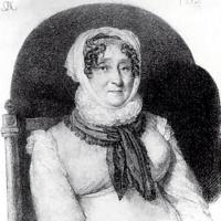 Портрет Елизаветы Марковны Олениной