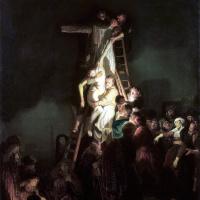Rembrandt Harmenszoon van Rijn. The descent from the cross