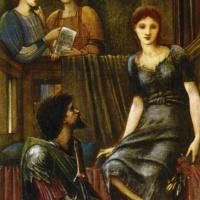 Edward Coley Burne-Jones. King Cophetua and the Beggar Maid (study)