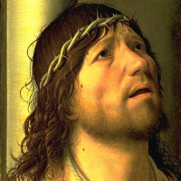 Антонелло да Мессина. Христос в терновом венке