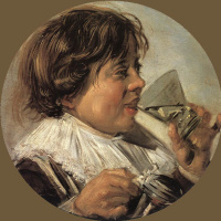 Франс Хальс. Пьющий мальчик. Аллегория вкуса