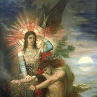 Гюстав Моро. Иаков и ангел