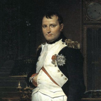 Жак-Луи Давид. Портрет Наполеона Бонапарта