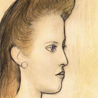 Пабло Пикассо. Портрет мадемуазель Обри