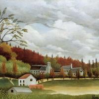 View of Bievre-sur-Gentilly