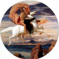 Сэр Фредерик Лейтон. Персей спешит на спасение Андромеды. 1895-1896