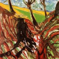 Эскиз портрета Ван Гога