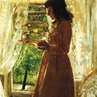 William Merritt Chase. Home Canary
