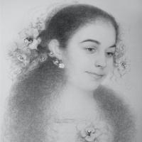 Неуловимо (Портрет Кристины)