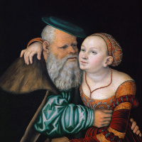 Куртизанка и старик