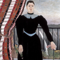 Анри Руссо. Портрет женщины