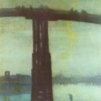 Джеймс Эббот Макнейл Уистлер. Ноктюрн в синем и золотом: Старый мост в Баттерси
