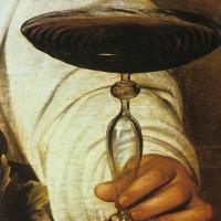 Микеланджело Меризи де Караваджо. Бахус. Фрагмент