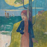 Жанна Д'Арк или Бретонка с прялкой