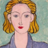Анри Матисс. Молодая женщина в синей блузе