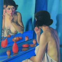 Каньяччио ди Сан Пьетро. Женщина в зеркале (Наталино Бентивольо Скарпа)