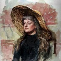 Портрет Елизаветы Званцевой