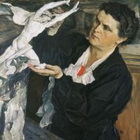 Портрет скульптора В.И. Мухиной